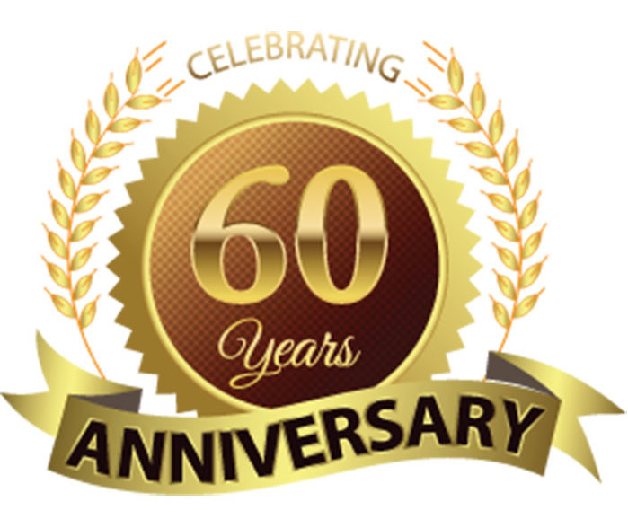 Image result for 60th year in business clipart
