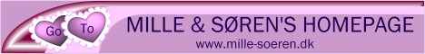Mille & Soren's Homepage